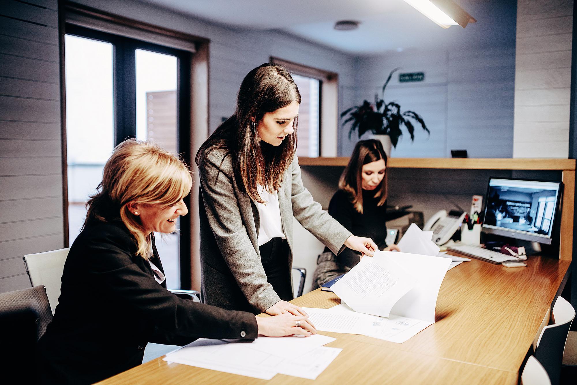 El equipo del despacho de abogados